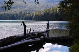fly fishing Packwood Lake