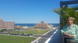 View from The Asbury Hotel, with Grandma on her 87th Birthday.
